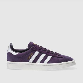 Adidas Purple Campus Womens Trainers