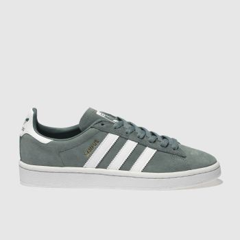 Adidas Green Campus Suede Womens Trainers