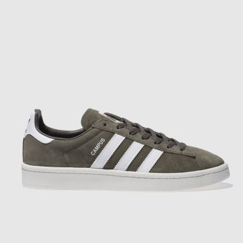 Adidas Khaki Campus Suede Womens Trainers