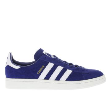 Adidas Blue Campus Womens Trainers