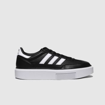 adidas Black & White Sleek Super Womens Trainers#