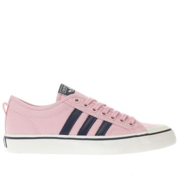 Adidas Pink Nizza Low Womens Trainers