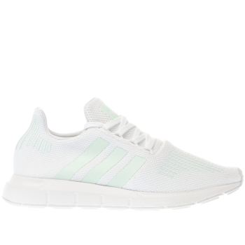 Adidas White Swift Run Womens Trainers