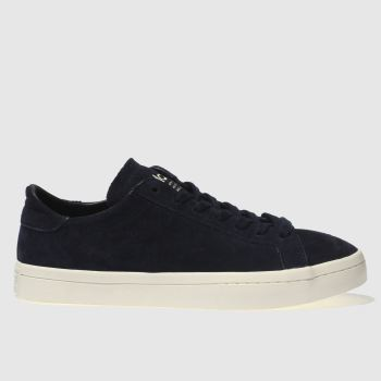 Adidas Navy & White Court Vantage Womens Trainers