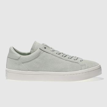 Adidas Green Court Vantage Womens Trainers