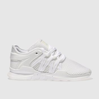 Adidas White EQT RACING ADV Trainers