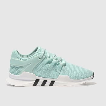 Adidas White & Green EQT RACING ADV Trainers