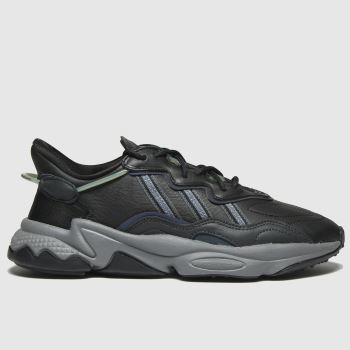 adidas Dark Grey Ozweego Womens Trainers