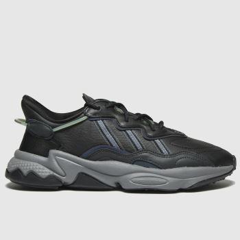 adidas Dark Grey Ozweego Womens Trainers