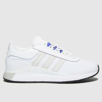 adidas White Andrige Womens Trainers