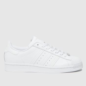 adidas White Superstar Womens Trainers