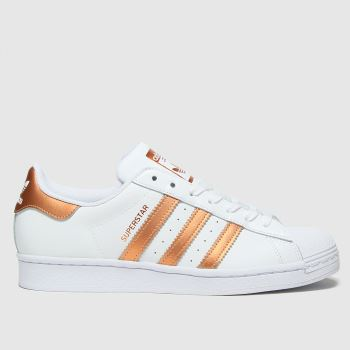 adidas Bronze Superstar Womens Trainers