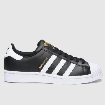 adidas Black Superstar Womens Trainers