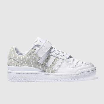 Adidas White Forum Lo Womens Trainers