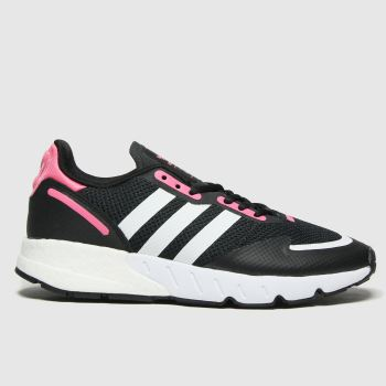 adidas Black & pink Zx 1k Boost Womens Trainers