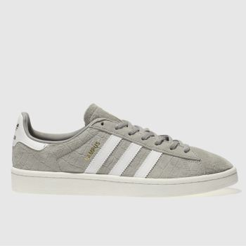 ADIDAS GREY CAMPUS SNAKE TRAINERS