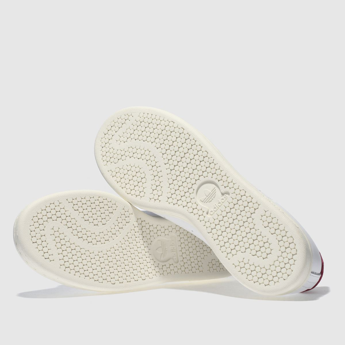 Damen Weiß-weinrot adidas Qualität Stan Smith Sneaker | schuh Gute Qualität adidas beliebte Schuhe c54e41