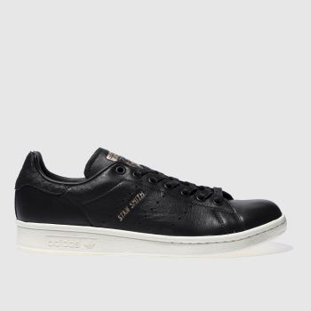 Adidas Black Stan Smith Womens Trainers