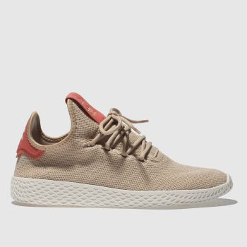 Adidas Nude Pink PHARRELL WILLIAMS TENNIS HU Trainers