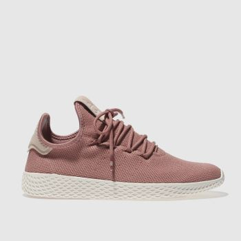 Adidas Pink Pharrell Williams Tennis Hu Womens Trainers