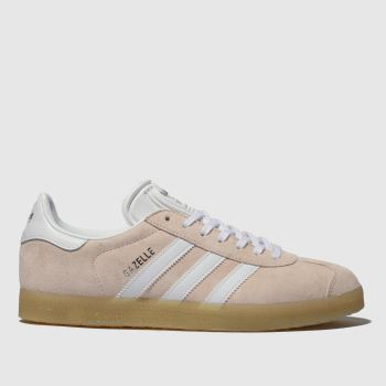 Adidas Peach Gazelle Suede Womens Trainers