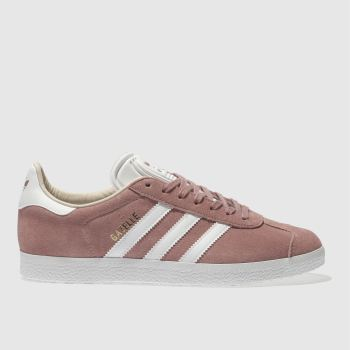 Adidas Pink GAZELLE SUEDE Trainers