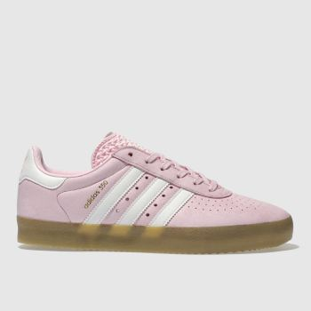 Adidas Pink 350 Leather Womens Trainers