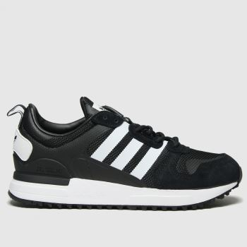 adidas Black & White Zx 700 Hd Womens Trainers#