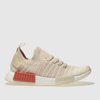 Adidas Natural Nmd_R1 Stlt Primeknit Womens Trainers