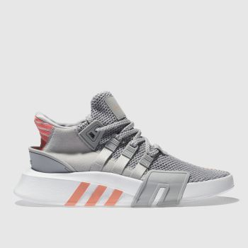 Adidas Grey Eqt Bask Adv Womens Trainers
