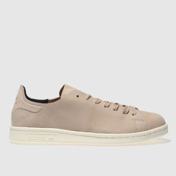 ADIDAS NATURAL STAN SMITH NUUD TRAINERS