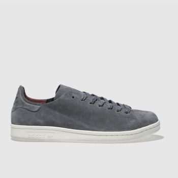 Adidas Grey Stan Smith Nuud Womens Trainers