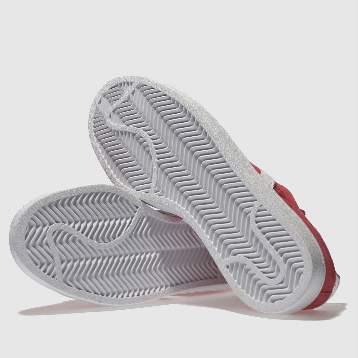 Damen Rot adidas Campus Suede Sneaker | Schuhe schuh Gute Qualität beliebte Schuhe | f21e5b