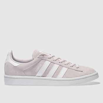 Adidas Pink Campus Suede Womens Trainers
