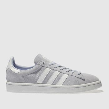 Adidas Pale Blue CAMPUS SUEDE Trainers