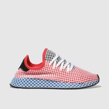 Adidas Red Deerupt Runner Womens Trainers