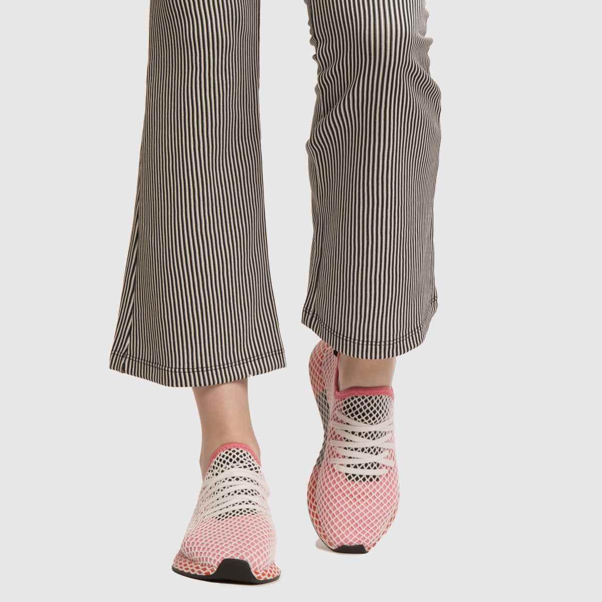 Damen Pink adidas Deerupt Runner Sneaker | Schuhe schuh Gute Qualität beliebte Schuhe | f8e260