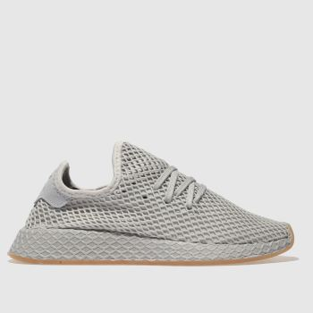 Adidas Light Grey Deerupt Womens Trainers
