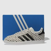 Adidas gazelle leather polka dots 1