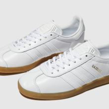 Adidas Gazelle Leather Gum 1