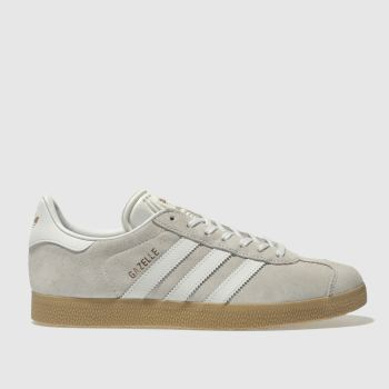 Adidas White Gazelle Womens Trainers