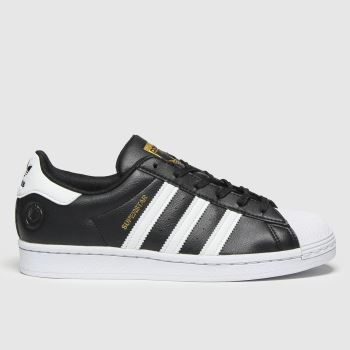 adidas Black & White Superstar Vegan Womens Trainers#