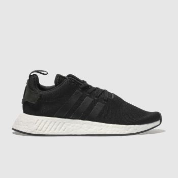 Adidas Black Nmd R2 Womens Trainers