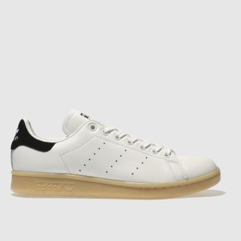 Adidas White Stan Smith Leather Gum Womens Trainers