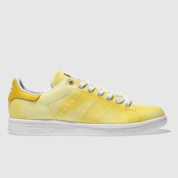 Adidas Yellow Stan Smith Pharrell Hu Holi Womens Trainers