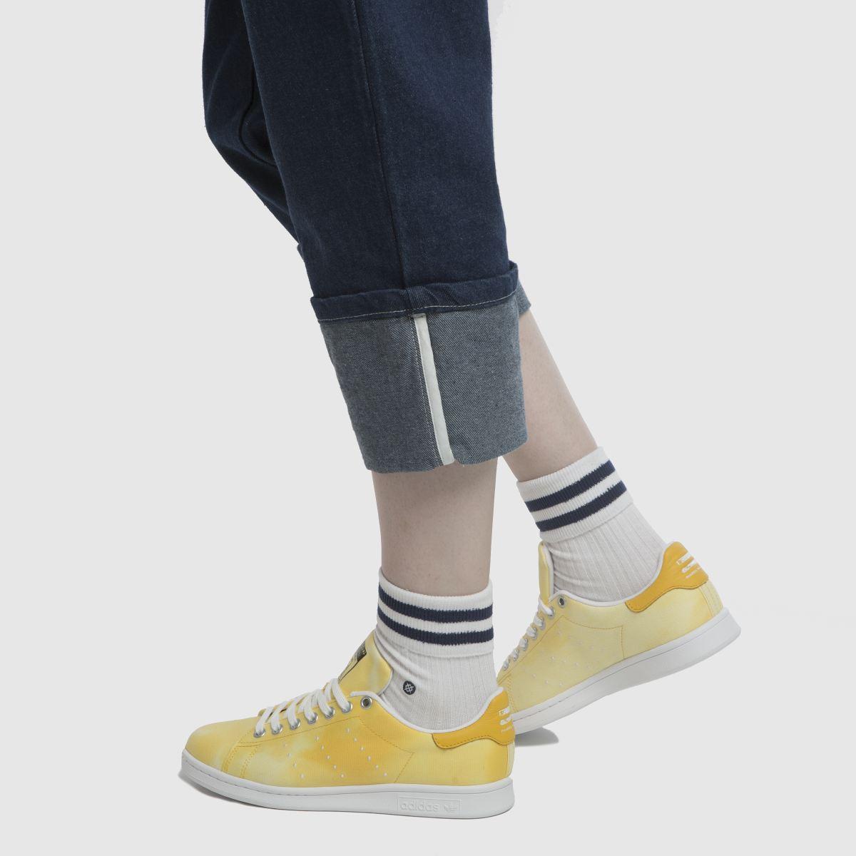 Damen Gelb Hu adidas Stan Smith Pharrell Hu Gelb Holi Sneaker   schuh Gute Qualität beliebte Schuhe 695a10