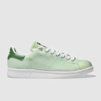 Adidas Green Stan Smith Pharrell Hu Holi Womens Trainers