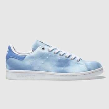 Adidas Blue Stan Smith Pharrell Hu Holi Womens Trainers