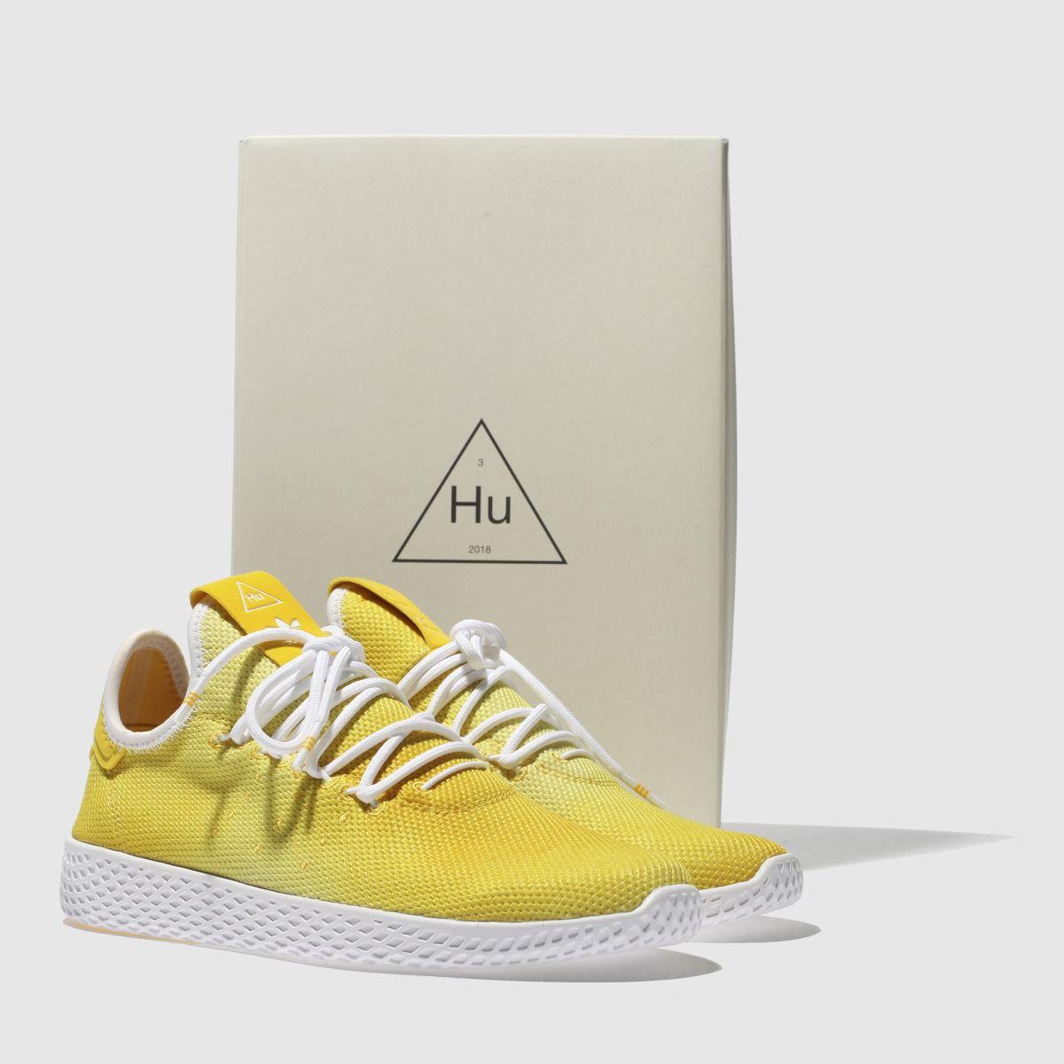 Damen Gelb Holi adidas Tennis Pharrell Hu Holi Gelb Sneaker | schuh Gute Qualität beliebte Schuhe 16f056