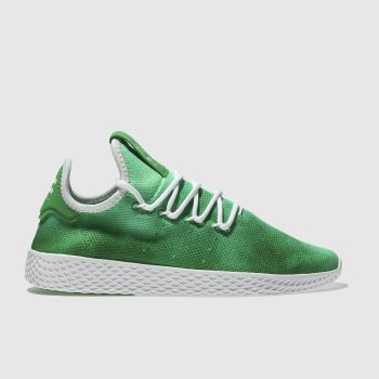 Adidas Green Tennis Pharrell Hu Holi Womens Trainers